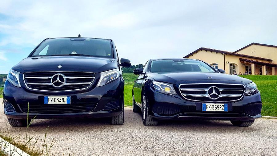 1 - Mercedes Classe V, Mercedes Classe E
