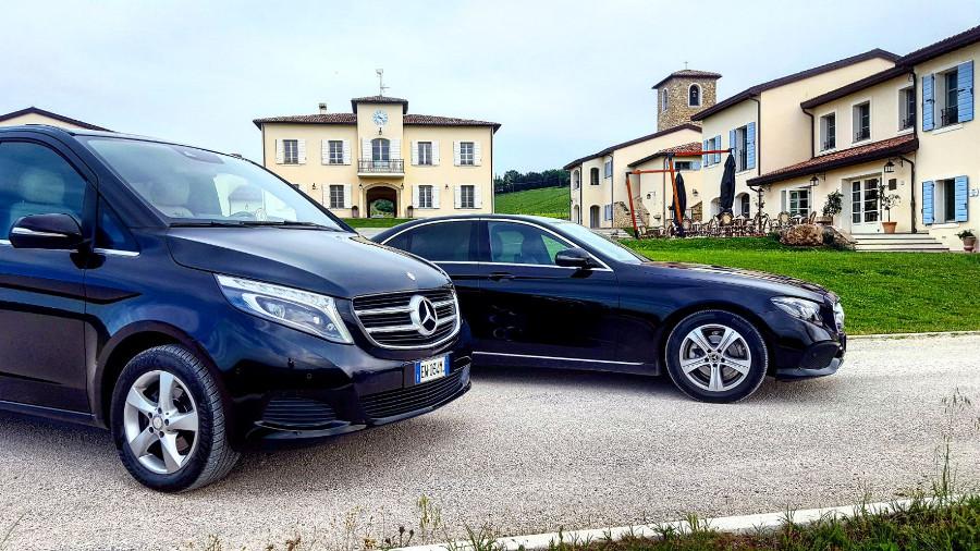2 - Mercedes Classe V, Mercedes Classe E